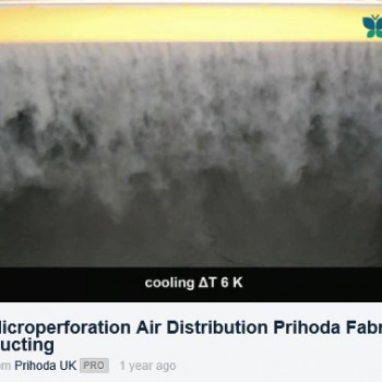 Micro-perforation-air-distribution