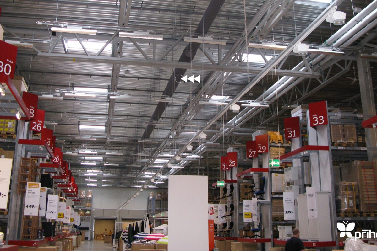 ikea retail ventilation ducting