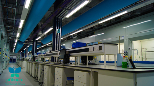 Laboratory Ventilation Systems Prihoda Uk