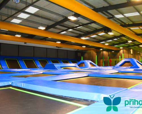 Trampoline-Air-Conditioning-Ductwork