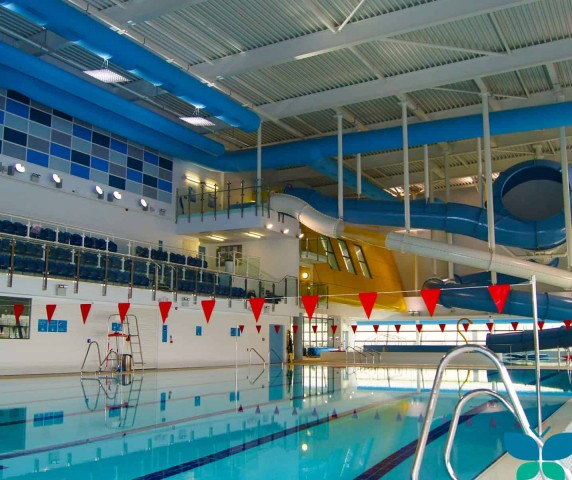 swimming pool ventilation over pool