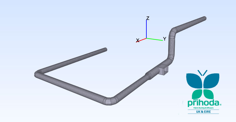 BIM with quotes for Fabric Ducting