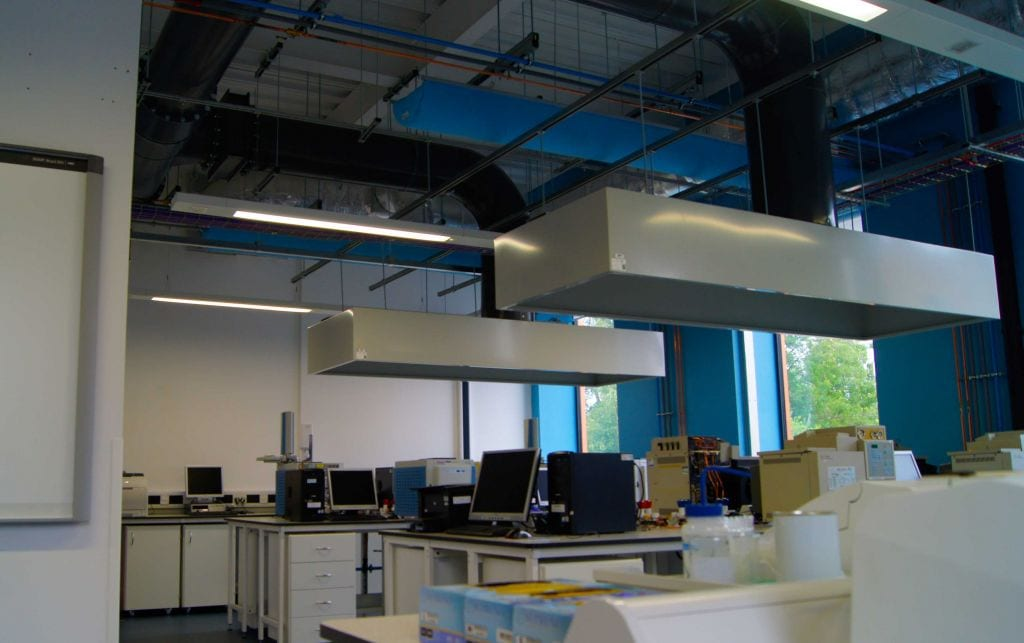 fabric ventilation in workstation environment of university of york