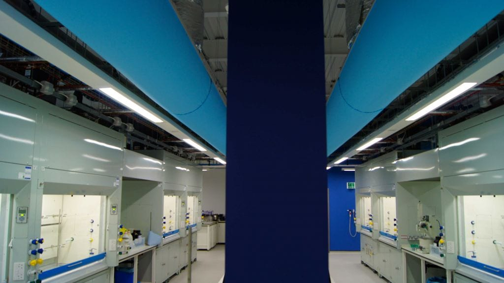 fabric ducting at university of york laboratory