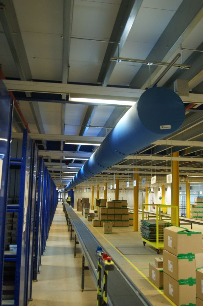 warehouse air ventilation