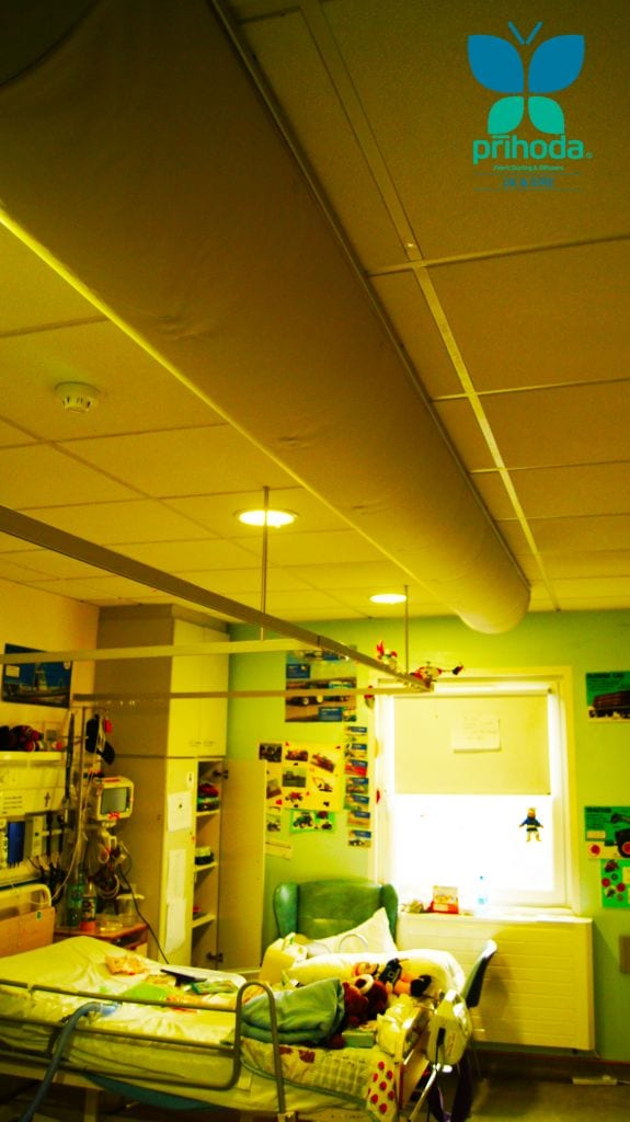 room in childrens hospital