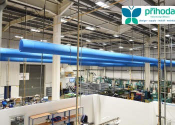 Prihoda Factory Fabric Ducting