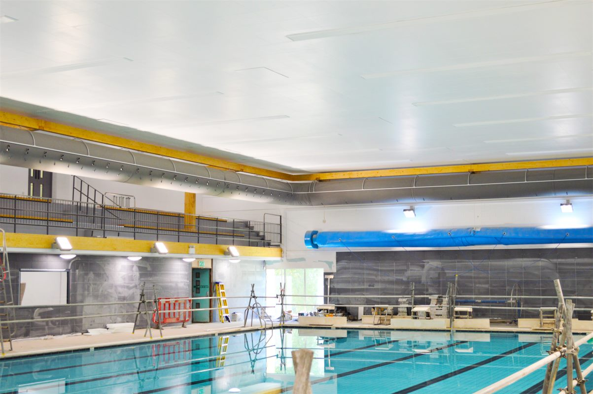 Prihoda -Bath Leisure - Pool Fabric Duct