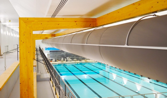sure - Swimming Pool Fabric Ducting