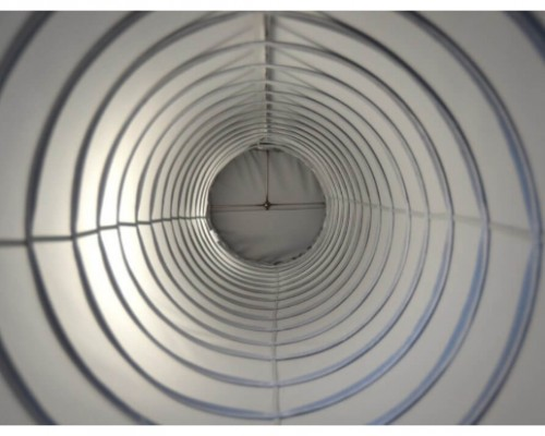 Helix fabric ducting