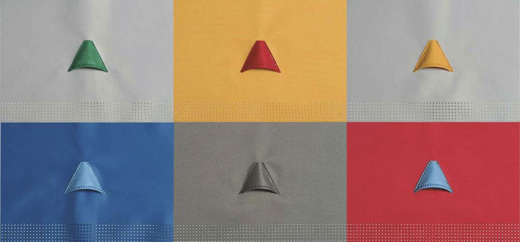 Prihoda SquAireTex colour combinations