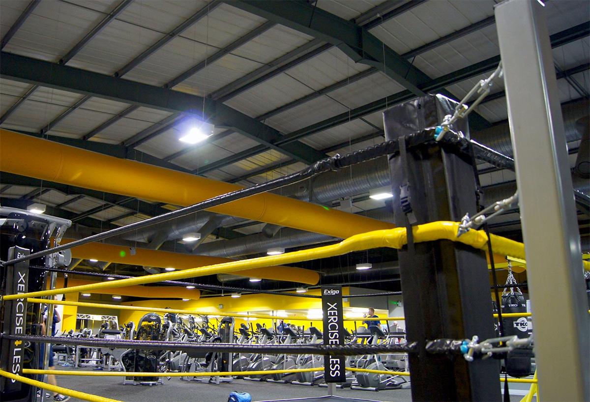 Prihoda yellow air socks in Xercise4Less gym