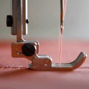 Manufacturing methods: seam sewing of Prihoda fabric diffuser