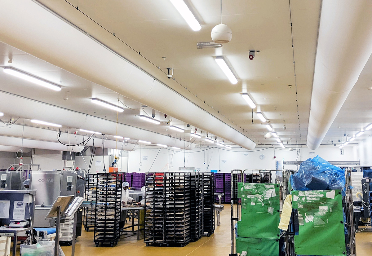 Fabric Diffusers for Displacement Ventilation – A Perfect Match